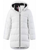 Пуховик белый зимний - куртка Reima Ahde 531424/0100