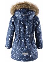 Удлиненная темно-синяя зимняя парка куртка Reimatec - Рейма Silda 521610