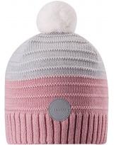 Малиновая шерстяная зимняя шапка-бини Reima Aapa 538080/4101