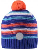 Фиолетовая шерстяная зимняя шапка-бини Reima Aapa 538080/5811