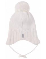 Зимняя белая шапка с завязками Lenne - Ленне DALILA 19379/001