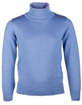 Гольф серо-голубой Flash Флеш 16BD500-1850