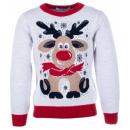 Джемпер с оленем свитер Flash - Флеш 19BG133-6-3900-2000