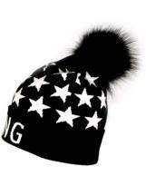 Черная Шапка с помпоном Flash - Флеш Gang 19BG130-7-1850-4000