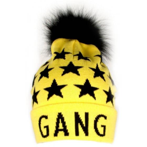 Желтая Шапка с помпоном Flash - Флеш Gang 19BG131-7-1850-700