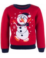 Свитер красный - свитер Flash - Флеш 19BG134-6-3900-504