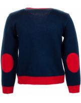 Свитер синий с оленем свитер Flash - Флеш 19BG133-6-3900-421