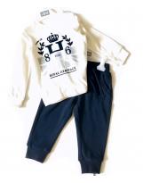 Спортивный повседневный костюм реглан + штаны iDo