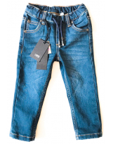 Джинсы на резинке с карманами iDo