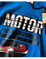 Реглан синий Motor iDo